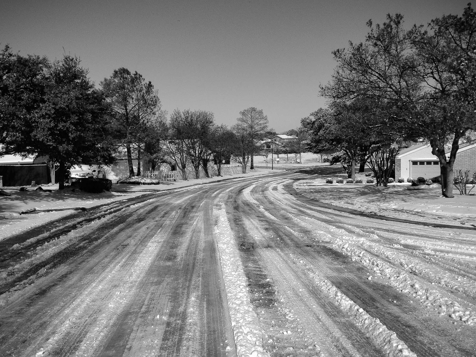 Snowy Dallas